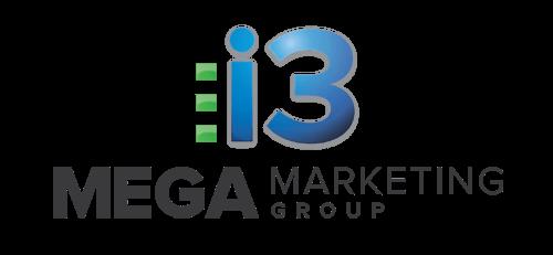 i3 mega marketing group logo